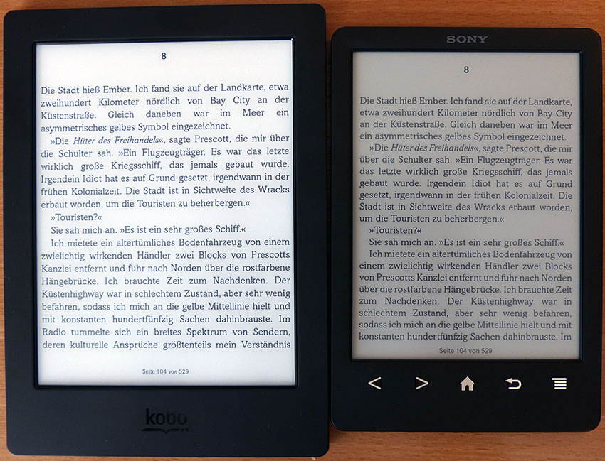 ebook reader test kobo aura h2o das blog von. Black Bedroom Furniture Sets. Home Design Ideas